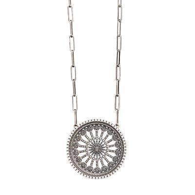 collana rosone santa maria assunta orvieto RV grande gioielli argento ellius