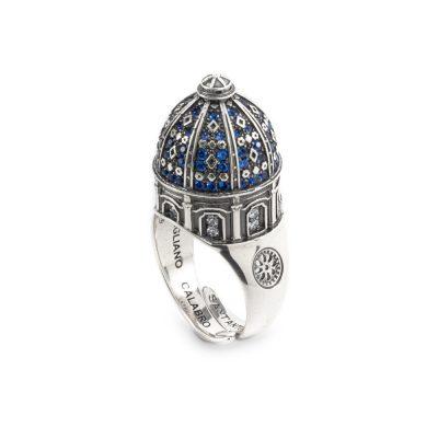 Anello Cupola SantAntonio Corigliano Cosenza gioielli argento Ellius