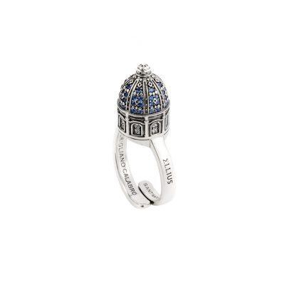 Anello minimal Cupola minimal SantAntonio Corigliano Cosenza gioielli argento Ellius