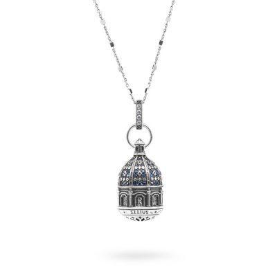 Collana Cupola SantAntonio Corigliano Cosenza gioielli argento Ellius