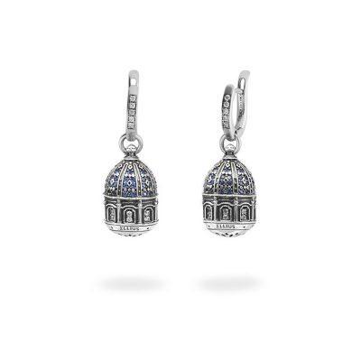 Orecchini Cupola SantAntonio Corigliano Cosenza gioielli argento Ellius