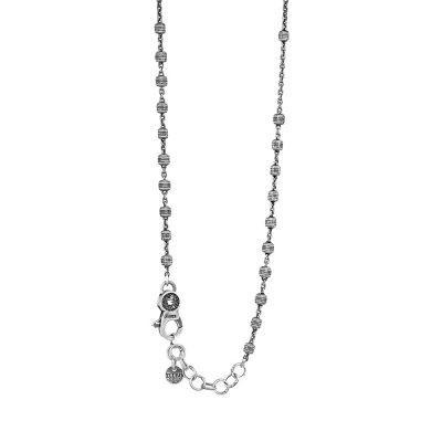 Collana Rosario Natività Croce pietre Retro gioiello argento Ellius