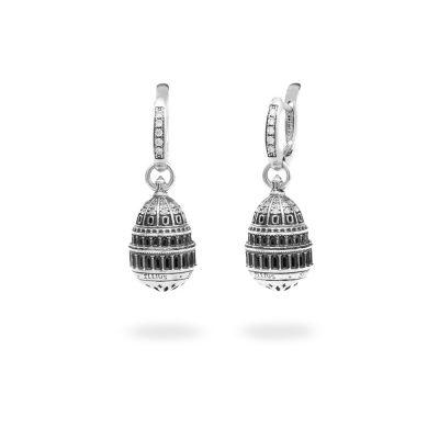 Orecchini Cupola Campidoglio Washington gioielli argento Ellius