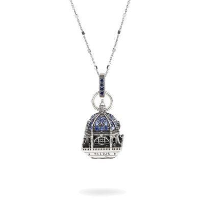 Collana Cupola Cattedrale Almudena Madrid gioielli argento Ellius