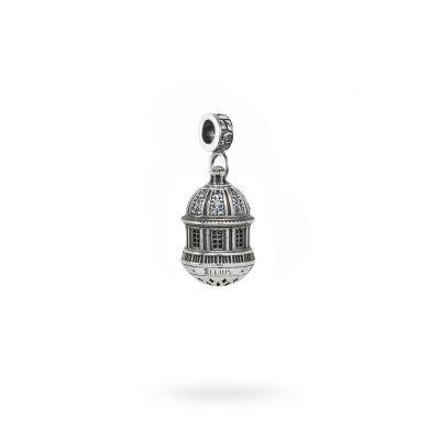 Charm Cupola Santuario Madonna di San Luca gioielli argento Ellius