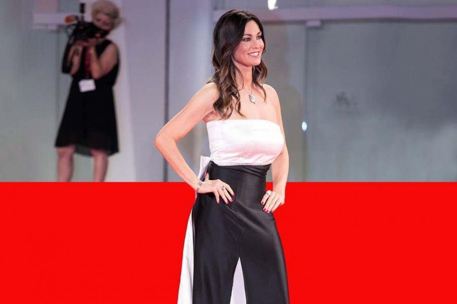 I gioielli Ellius indossati da Manuela Arcuri alla Mostra del Cinema di Venezia